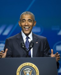 """Барак Обама о себе: """"Именно так выглядит феминист!"""""""