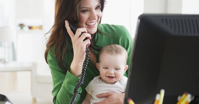 Работающая мама: 7 нетривиальных способов успеть все