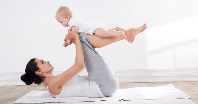 Можно ли заниматься спортом сразу после родов