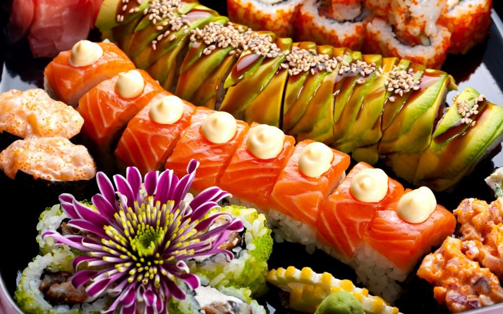 суши еда
