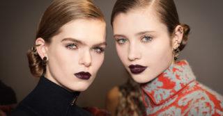 Осенние make-up тенденции: Выразительные губы и драматический взгляд