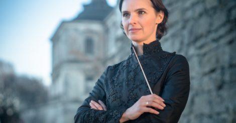 У пульта: Украинка Оксана Лынив стала дирижером оперы Граца