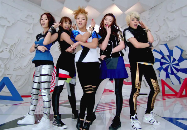 TAHITI band korea1