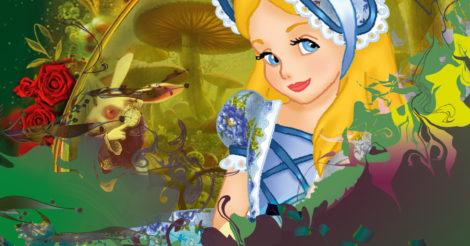 """Интерактивный спектакль для детей """"Невероятные приключения Алисы"""""""