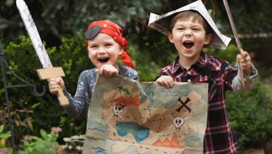 """Интерактивный спектакль для детей """"Капитан Билл и сокровища Морской Колдуньи"""""""