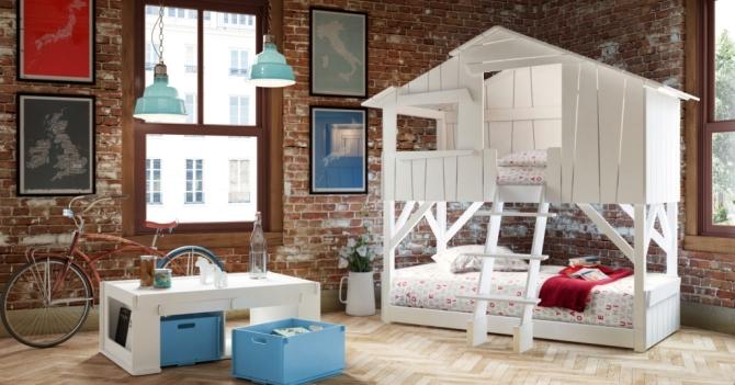 Дом в доме: 5 идей для обустройства детской