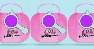 WoMo-знахідка: Набір іграшок L.O.L. BIGGER Surprise