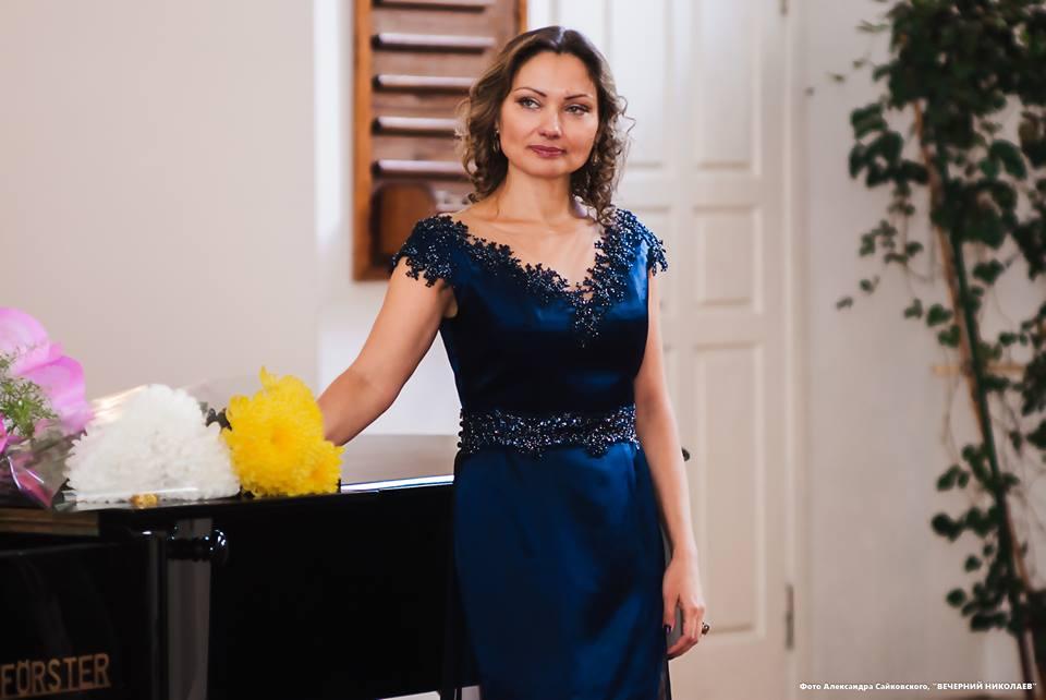 Благотворительный концерт оперной дивы Елены Гончарук