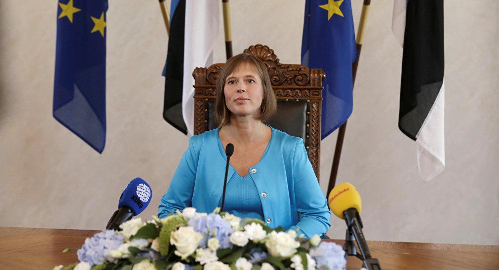 Впервые в истории Эстонии президентом стала женщина