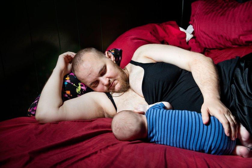 """Джесси Хемпел: """"Что скажут незнакомцы моему бородатому брату с животом на девятом месяце?"""""""