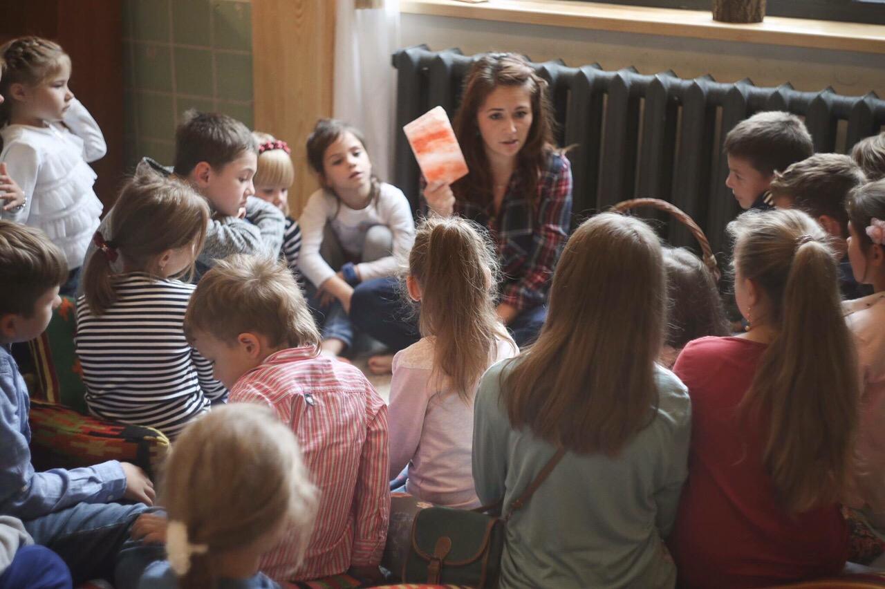 Лекции для детей о здоровом питании в Kartata Potata