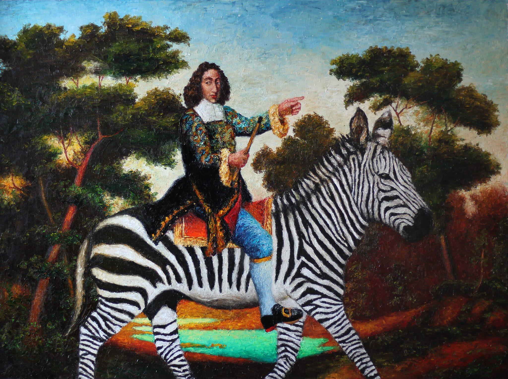 Выставка Александра Ройтбурда «Ройтбурд в музее»
