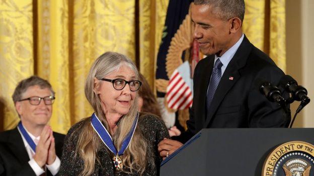 """Оценили: Маргарет Гамильтон получила высшую награду США за программы для миссии """"Аполлон"""""""