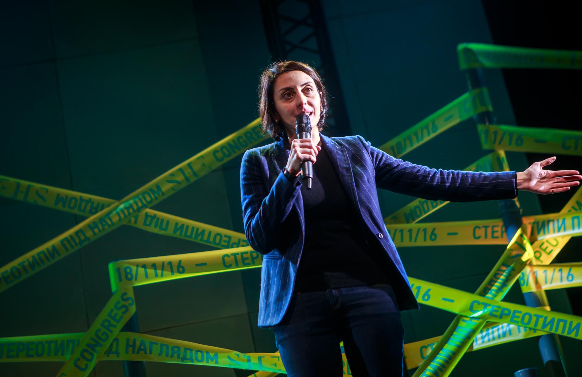 """Хатия Деканоидзе: """"Кто, как не мы, сможем изменить Украину? Go, girls!"""""""