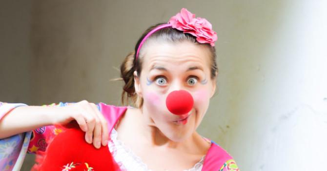 Мария Гавриловская о профессии больничного клоуна