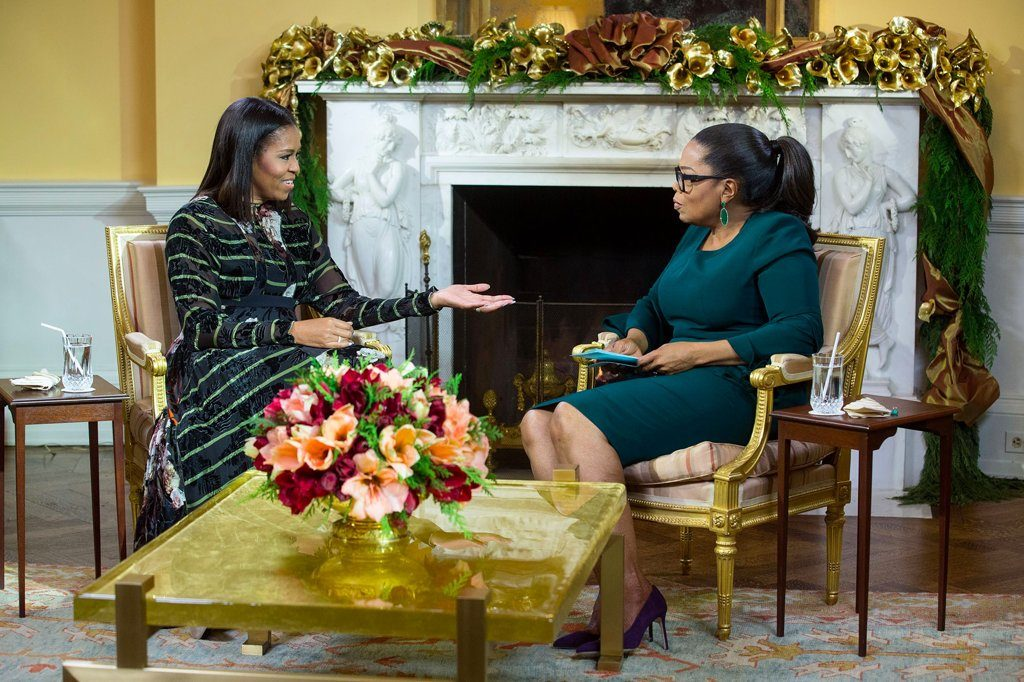 oprah-brandon-maxwell-dress-michelle-obama-interview