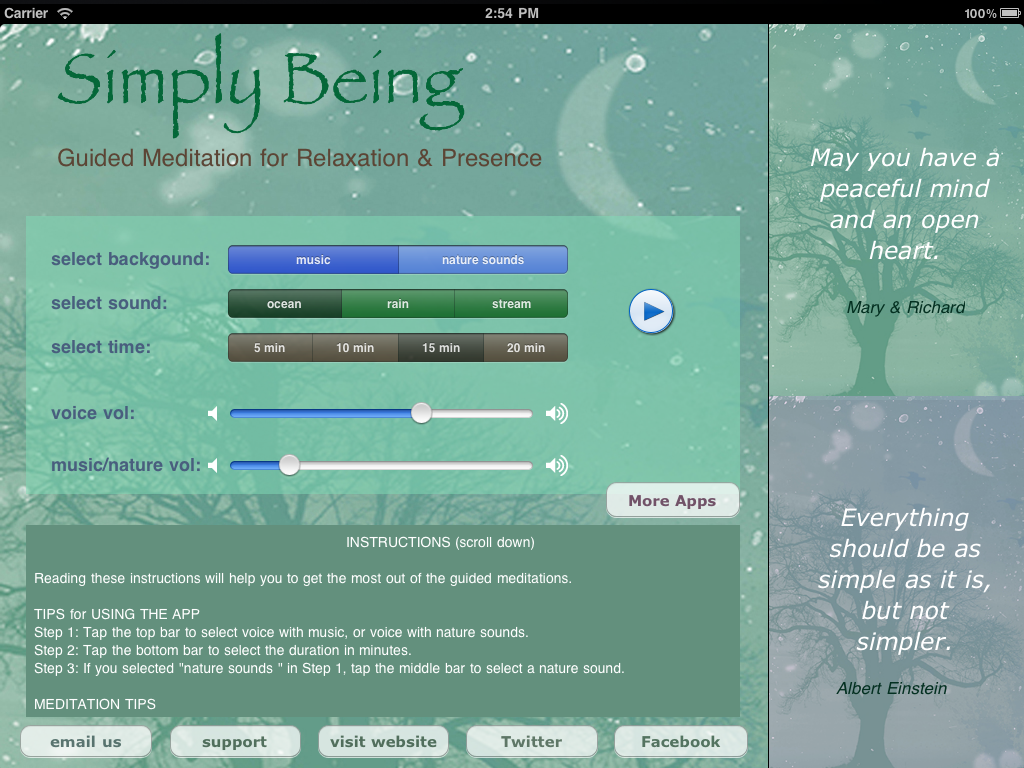 simply-being