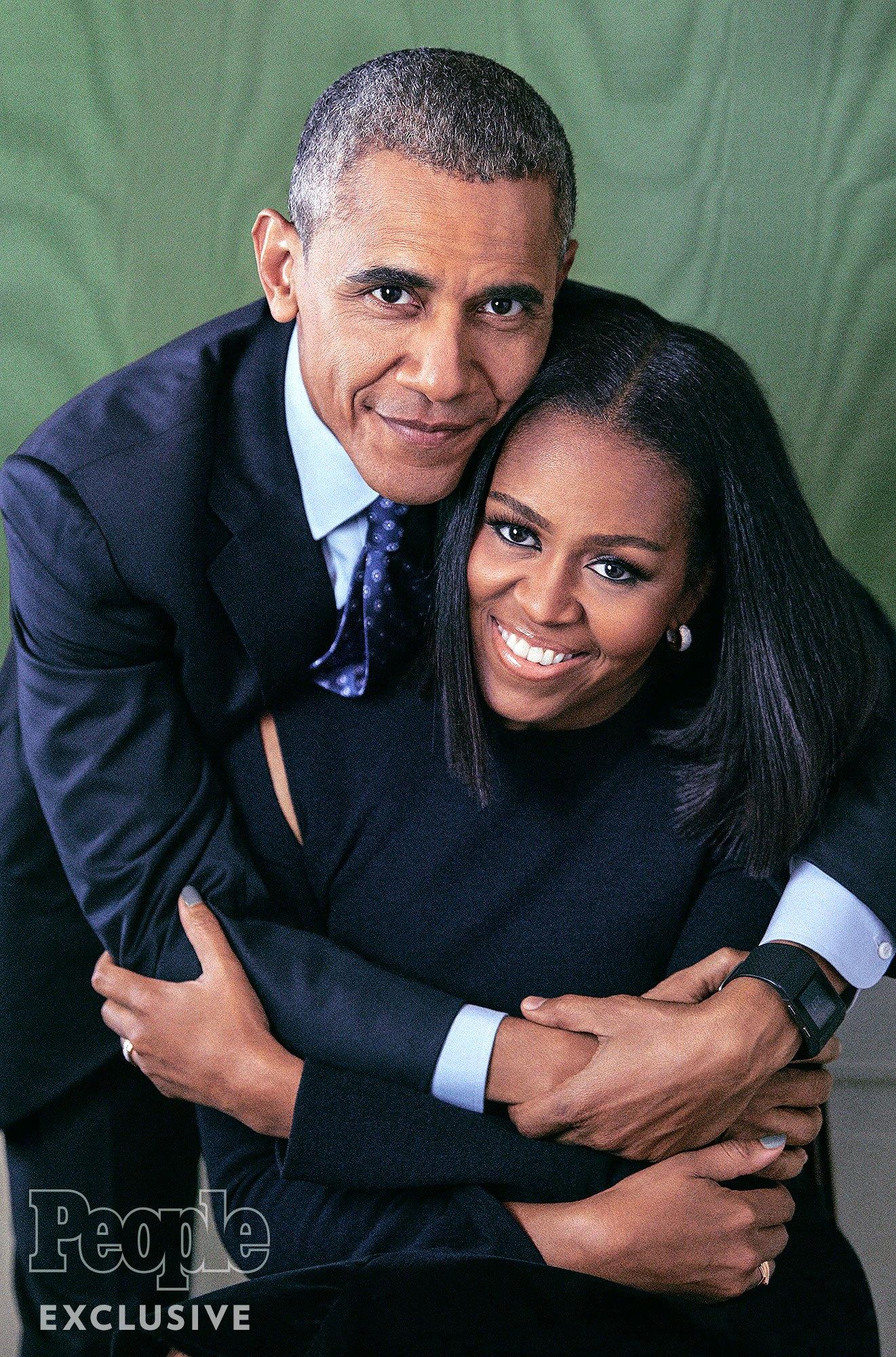 """Мишель и Барак Обама: """"Восемь лет в Белом доме сблизили нас еще больше"""""""