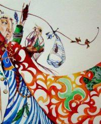 """Курс """"Книжная иллюстрация"""" с Натали Буг"""