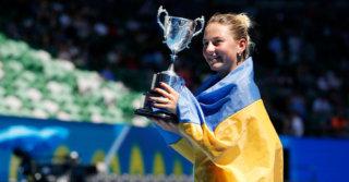 Видео: 14-летняя украинка Марта Костюк победила на Australian Open