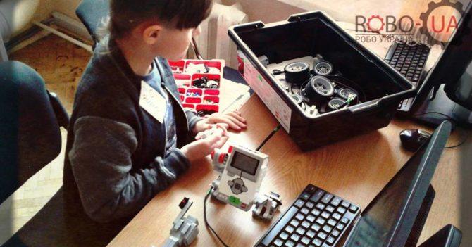 Мастер-класс робототехники для детей в лаборатории RoboUa