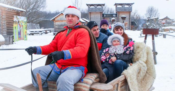 Дни семейного отдыха в «Парке Киевская Русь»