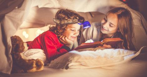 Book Challenge первоклассников: Девочка, мальчик и 9 книг на каждого