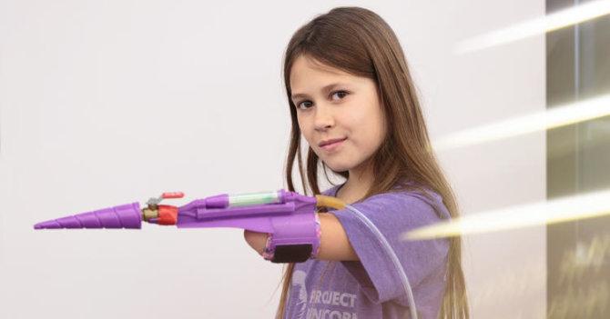 Блестящая идея: Юная Джордан Ривз и ее удивительный протез