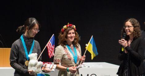 16-летняя харьковчанка Ольга Шевченко выиграла золото на European Girls' Mathematical Olympiad