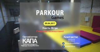 Змагання з паркуру Parkour Games
