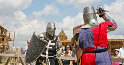 Чемпионат Украины по средневековому бою «Зов героев»