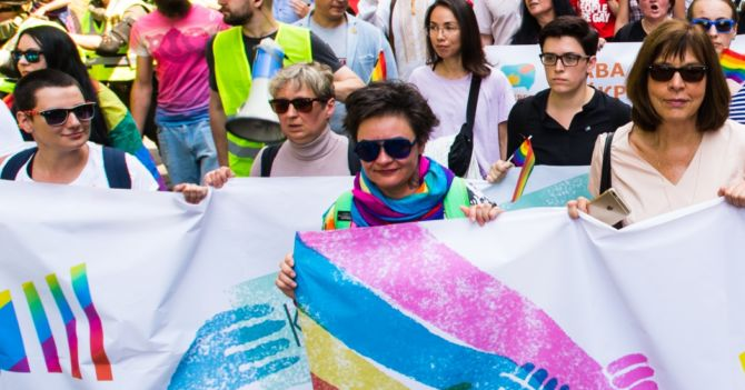 """Анна Шаригіна: """"Навіть дитині зрозуміло, в якій гомофобній країні ми живемо"""""""