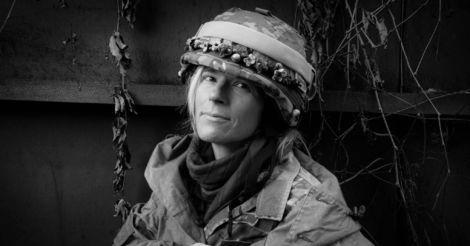 Марія Берлінська: «Ми хочемо проявити людські обличчя на цій війні, і невидимий батальйон, яким є жінки»