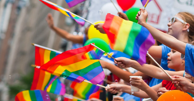 Евросоюз объявили свободной зоной для ЛГБТ-сообщества