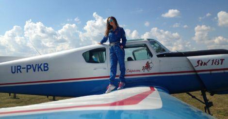 Первым делом - самолеты: Пилот Виктория Найденко о любви к небу