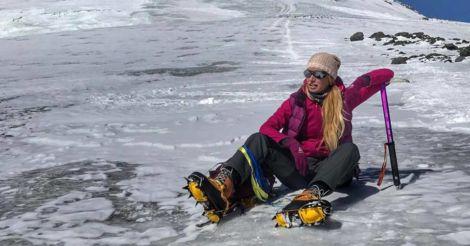 """Ирина Галай: """"Денали на Аляске - самая честная гора из всех, там любое твое движение может стать последним"""""""