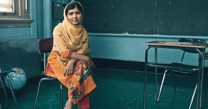 """Малала Юсуфзай: """"Базовое образование помогает девочке раскрыть потенциал, а среднее - дает ей крылья для полета"""""""