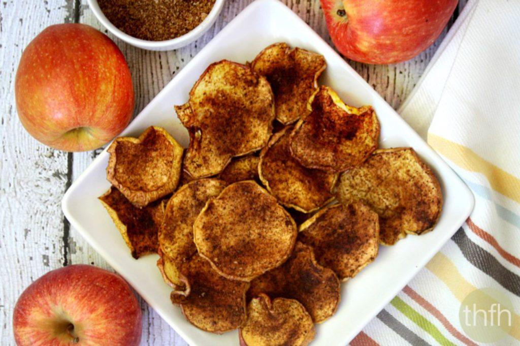 Как сделать яблочный чипсы 432