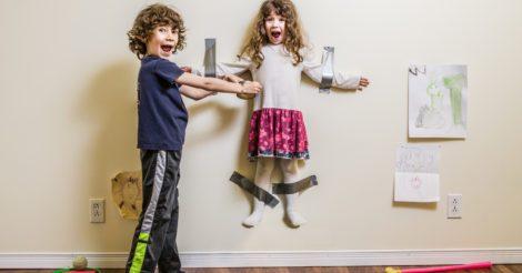Ребенок привел друзей: Будьте как дома, но не забывайте, что вы в гостях