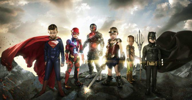 Фотопроект: Маленькие герои на страже против общего врага