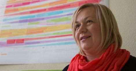 Оксана Макаренко: «Завдання реформи – навчити школу стати дружньою до дитини і допомогти їй розкрити свій потенціал»