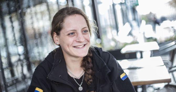 Юлия Толопа: «Если ты один раз на войне побывал, то вернешься туда в любом случае»