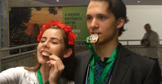 И снова золото: 11-классница Екатерина Малкина взяла первое место на научной олимпиаде в Бразилии
