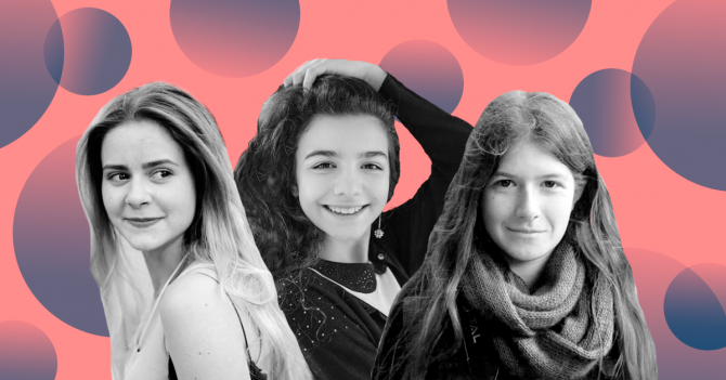 Girls 4 Science: Три дівчини про те, чому вони обрали науку