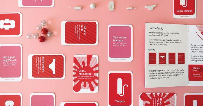 """WoMo-находка: Настольная игра """"The Period Game"""""""