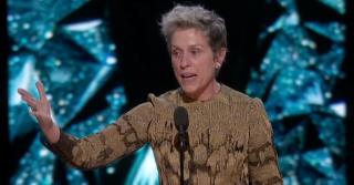 """Фрэнсис Макдорманд: """"У меня для вас только два слова: inclusion rider"""""""