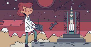 Мальчики потерпят: Как кыргызские девушки строят первый в стране космический спутник