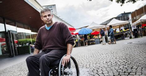 Расмус Ісакссон: «Після#MeTooшведи дізналися, що люди з інвалідністю теж стають мішенню насильства»