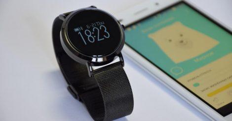 EMwatch: Смарт-часы, которые помогут справиться со стрессом на работе