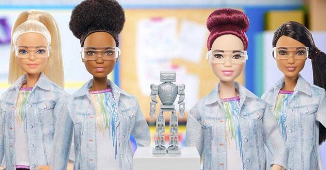 WoMo-знахідка: Robotics Engineer Barbie